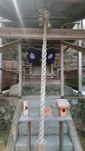 京都の御髪神社 白い光